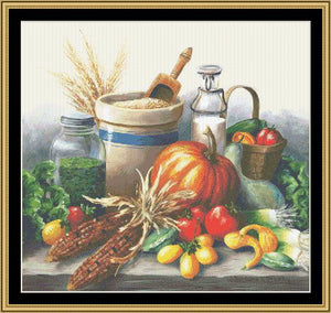 A Still Life Series - Harvest Still Life BF-303 - Mystic Stitch Inc...