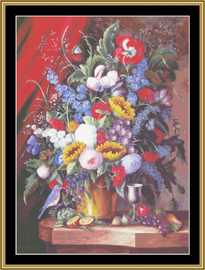 A Still Life Series - Berries & Birds To Sing BF-311 - Mystic Stitch Inc...