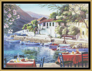 FAVORITE LANDSCAPE COLLECTION - ASSOS HARBOR  BF-400