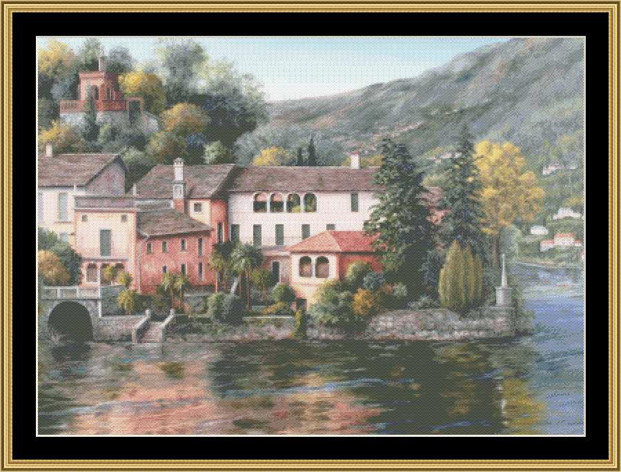 FAVORITE LANDSCAPE COLLECTION - LAKE ORTA  BF-412