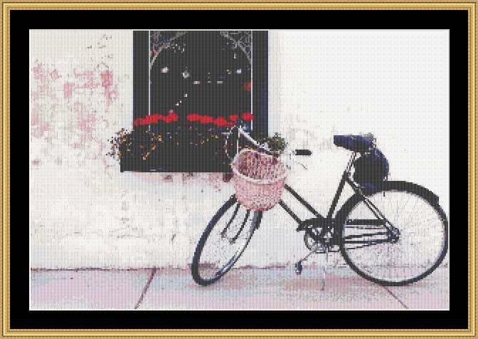 BICYCLE WITH BASKET MART-17