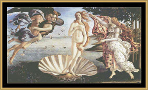 GREAT MASTERS COLLECTION Birth Of Venus  GM-35 - Mystic Stitch Inc...
