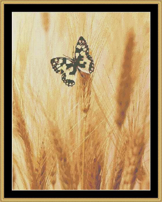 BUTTERFLY ON WHEAT BUTC-11 - Mystic Stitch Inc...