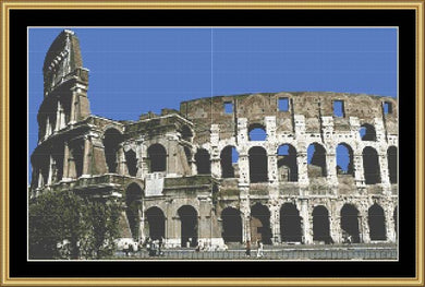 COLLOSSEUM FP-ITALY03 - Mystic Stitch Inc...