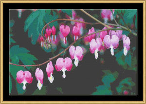 BLEEDING HEART FLO-12 - Mystic Stitch Inc...