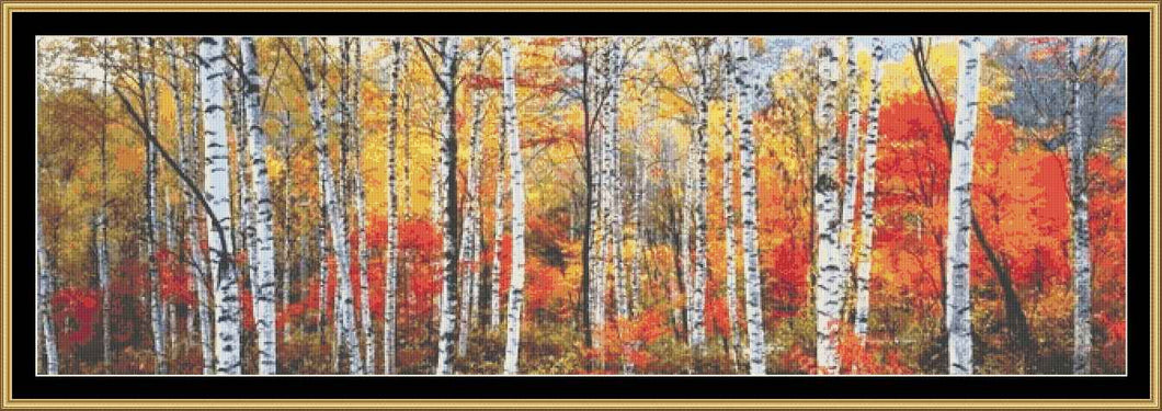 BIRCH FOREST-FRENCH ALPS FP-FRA16 - Mystic Stitch Inc...