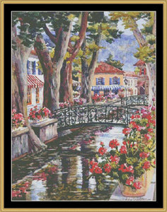 FRENCH COUNTRY VILLAGE  EDER-05 - Mystic Stitch Inc...