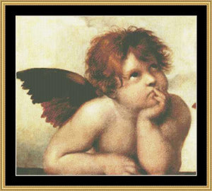 GREAT MASTER COLLECTION - Sistine Madonna (Detail) - Raphel   GM-09 - Mystic Stitch Inc...