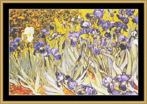 THE GREAT MASTERS COLLECTION - Irises II - Van Gogh  GM-16