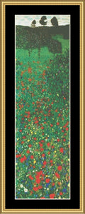 """IT'S ALL IN THE DETAIL"" COLLECTION FIELD OF POPPIES - KLIMT GM-210"