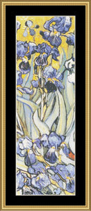 """IT'S ALL IN THE DETAIL"" COLLECTION IRISES – VAN GOGH GM-215"