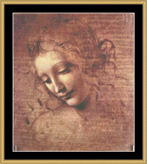 GREAT MASTERS COLLECTION Woman's Head I  GM-37