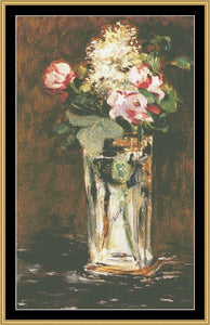 THE GREAT MASTERS COLLECTION - FLOWERS IN CRYSTAL VASE GM-48