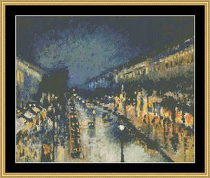 THE GREAT MASTERS COLLECTION - MONTMARTRE AT NIGHT  GM-77