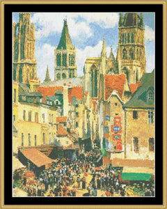 THE GREAT MASTERS COLLECTION - THE OLD MARKET AT ROUEN  GM-78