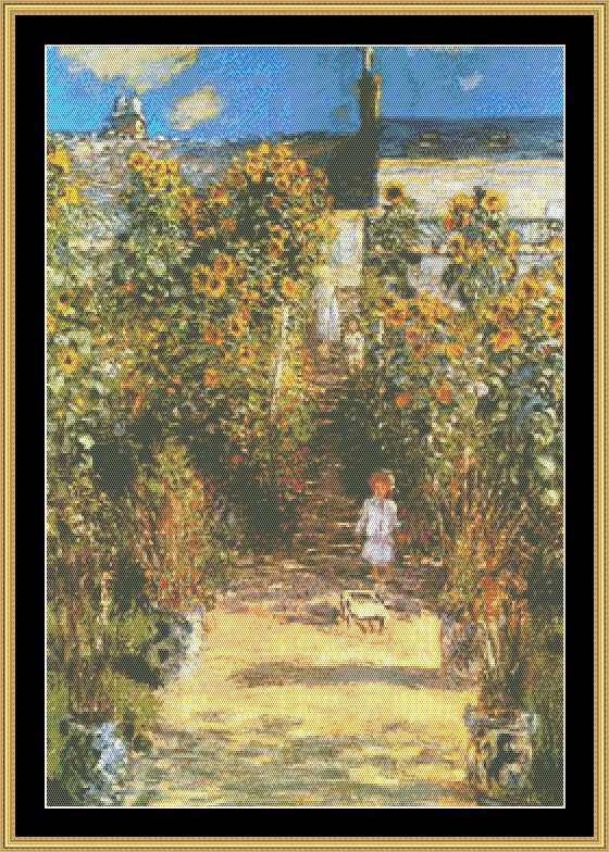 THE GREAT MASTERS COLLECTION The Artists Garden  GM-84