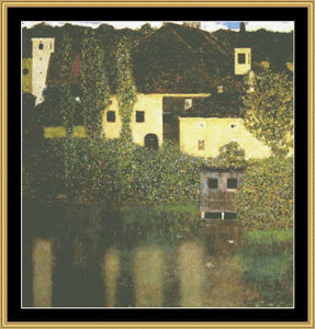 GREAT MASTER COLLECTION - Water Castle - Klimt    GM2-16 - Mystic Stitch Inc...