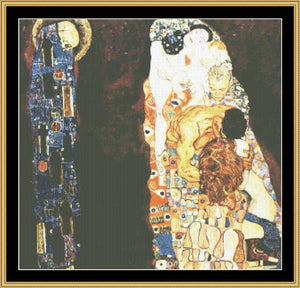 GREAT MASTER COLLECTION - Death & Life - Klimt    GM2-17 - Mystic Stitch Inc...