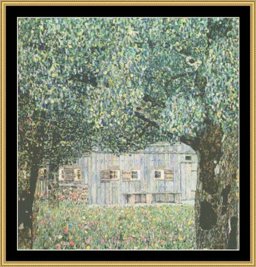 GREAT MASTER COLLECTION - Farm House In Upper Austria - Klimt   GM2-20 - Mystic Stitch Inc...