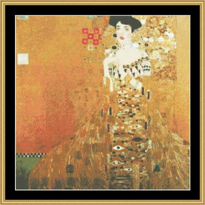 GREAT MASTER COLLECTION - Adele Bloch - Klimt   GM2-25 - Mystic Stitch Inc...