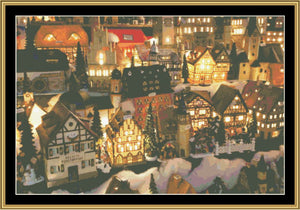 Christmas Village HOL-66 - Mystic Stitch Inc...