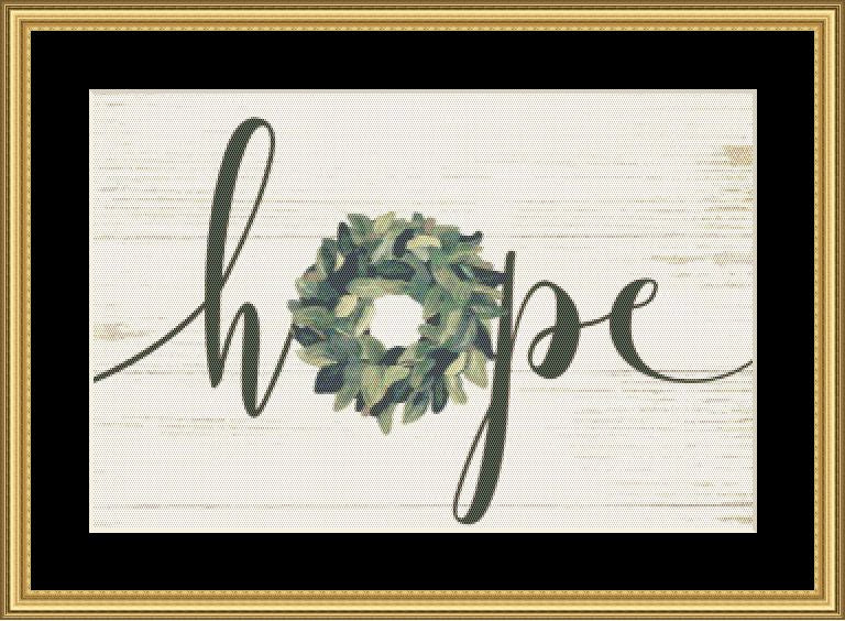 A FARMHOUSE CHRISTMAS - HOPE  JM-247