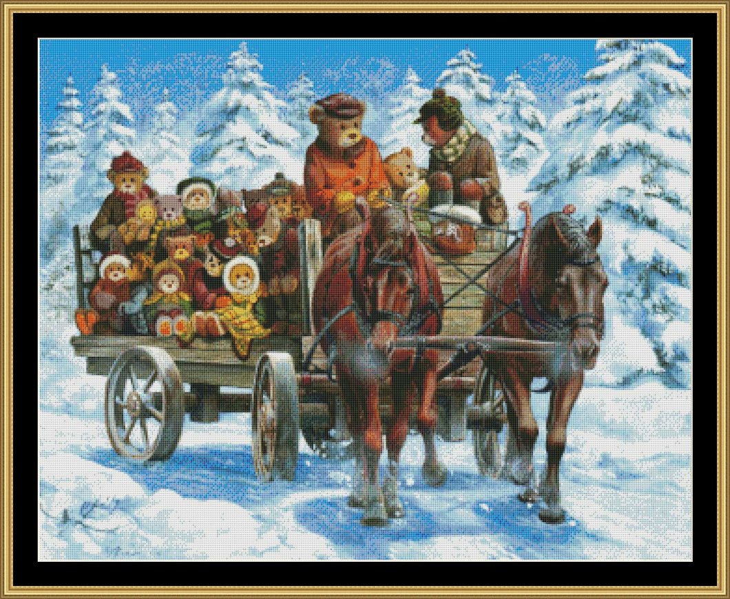 THE CEDARBROOK BEARS – SNOW RIDE JOBIN-33