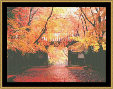 AUTUMN ALCOVE  NFP-150 - Mystic Stitch Inc...