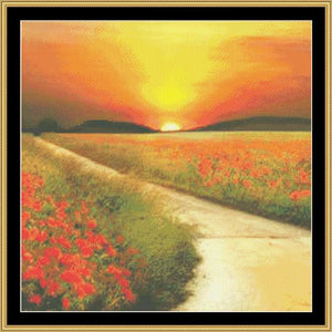 GOLDEN SUNSET  NFP-151 - Mystic Stitch Inc...