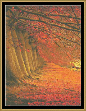 Fall Tree II   NFP-27 - Mystic Stitch Inc...