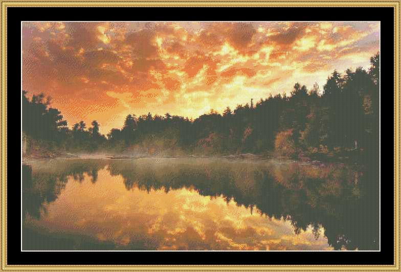 Colorful Sky II   NFP-36 - Mystic Stitch Inc...