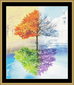 Change Of Seasons II    NFP-700 - Mystic Stitch Inc...