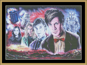 Dr. Who II  READ-63 - Mystic Stitch Inc...