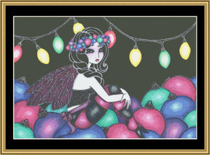 CHRISTMAS FAIRY II  REGKU-37 - Mystic Stitch Inc...