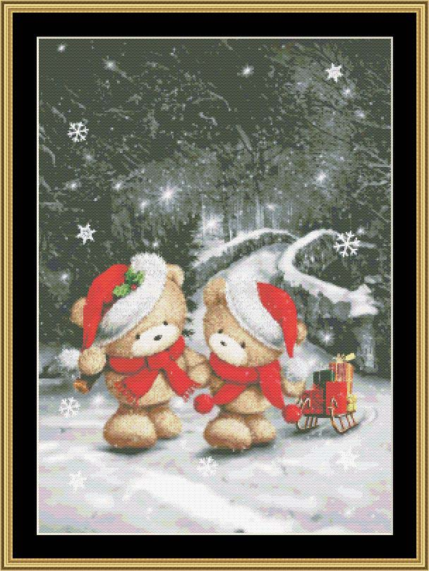 CHRISTMAS COUPLE  RM-01 - Mystic Stitch Inc...