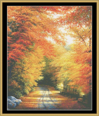 Autumn In New England   RNFP-304 - Mystic Stitch Inc...