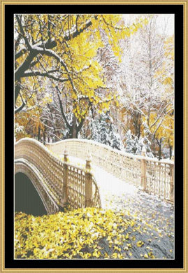 Autumn Snow   RNFP-324 - Mystic Stitch Inc...
