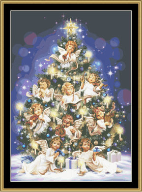 Angel Tree  SP-04 - Mystic Stitch Inc...