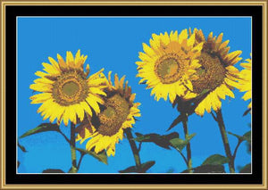 SUMMER SUNFLOWERS  FLO-10