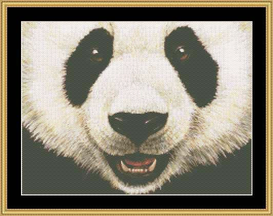 THE MANY FACES- PANDA  CLB-07