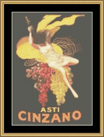 ASTI-CINZANO  VP-12 - Mystic Stitch Inc...