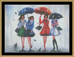 Four Rain Girls    VW-13 - Mystic Stitch Inc...