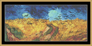GREAT MASTERS COLLECTION Wheat Field With Crows  GM-63