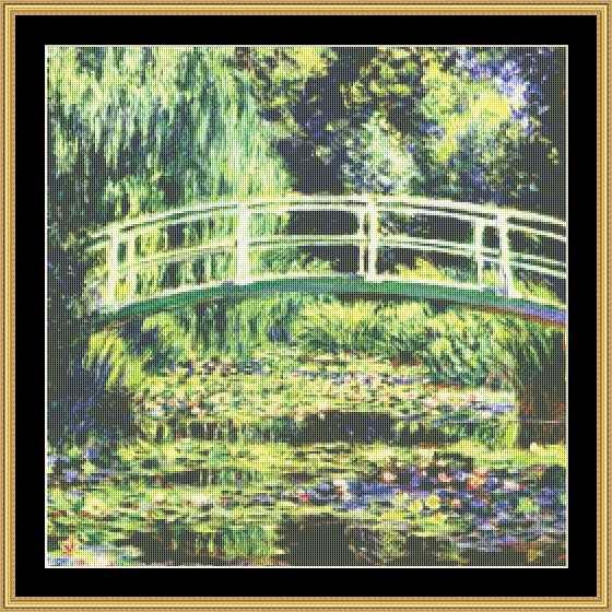 GREAT MASTERS COLLECTION White Water Lilies  GM-60
