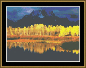 FALL REFLECTIONS  WL-150 - Mystic Stitch Inc...