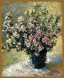 GREAT MASTERS COLLECTION Vase Of Flowers - Monet  GM-31