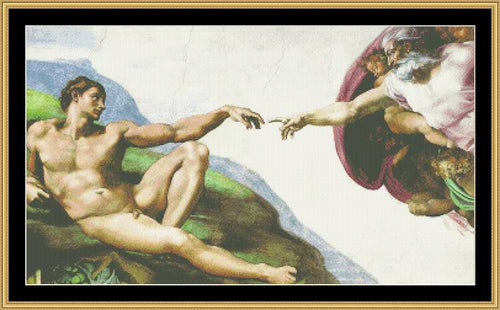 THE GREAT MASTERS COLLECTION - CREATION OF ADAM  GM-33