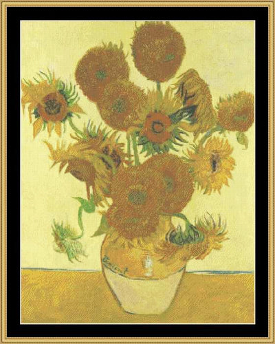 THE GREAT MASTERS COLLECTION - SUNFLOWERS  GM-70