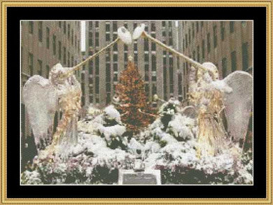 Angles Of Rockefeller Center HOL-05 - Mystic Stitch Inc...