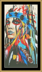 #1 Native American   NFP-607 - Mystic Stitch Inc...